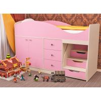 кровать детская, пирамида, кровать с лесенкой, детская мебель, детские, фабрика