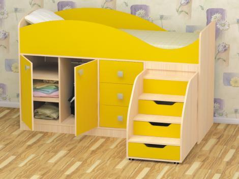 кровать детская, стрелка, пирамида,фабрика мебели,детская кровать,мебель детская