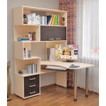 угловой стол, стол компьютерный, мебель для дома, стол с тумбой, большой стол