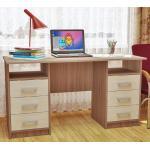 двухтумбовый стол, стол письменный, ученическая мебель, мебель для дома и офиса